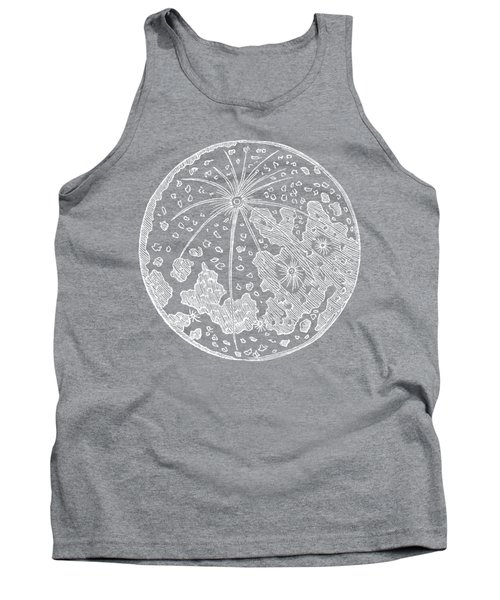 Tank Top featuring the photograph Vintage Planet Tee Blue by Edward Fielding