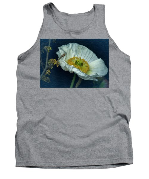 Tank Top featuring the photograph Vintage Poppy 2017 No. 2 by Richard Cummings