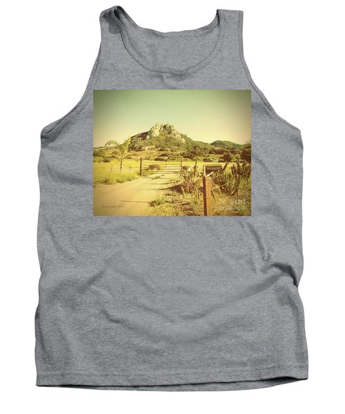 Vintage San Luis Obispo California Seven Sisters  Tank Top