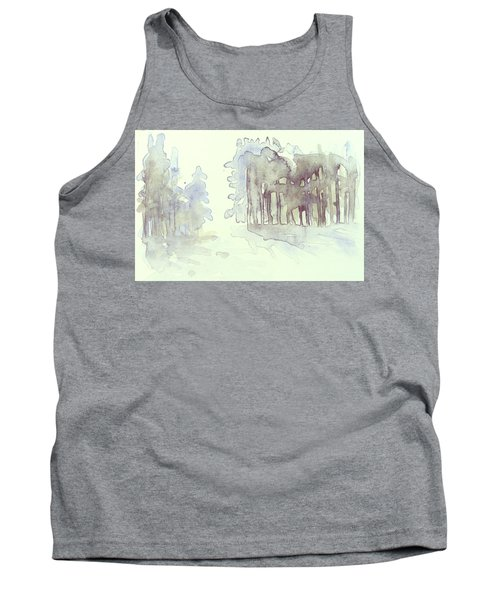Vintrig Skogsglanta, A Wintry Glade In The Woods 2,83 Mb_0047 Up To 60 X 40 Cm Tank Top