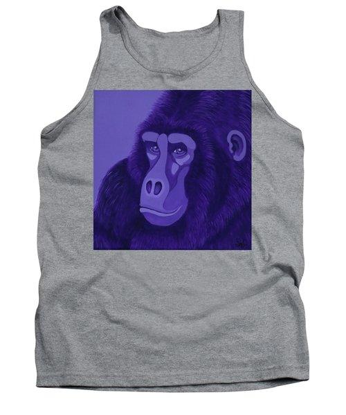 Violet Gorilla Tank Top