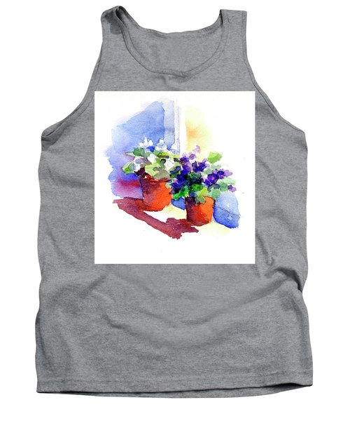 Violets Are Blue Tank Top