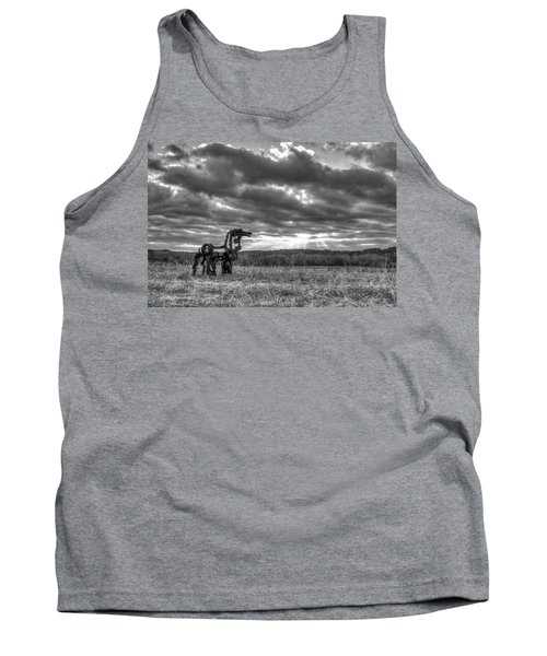 Visible Lights The Iron Horse Sunrise Art Tank Top