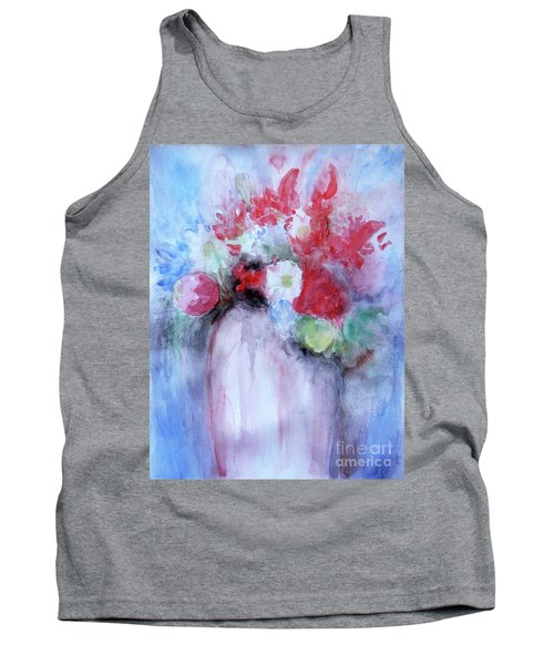 Tank Top featuring the painting Vitality Still Life by Jasna Dragun