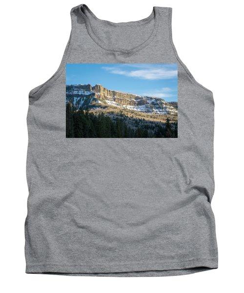 Volcanic Cliffs Of Wolf Creek Pass Tank Top