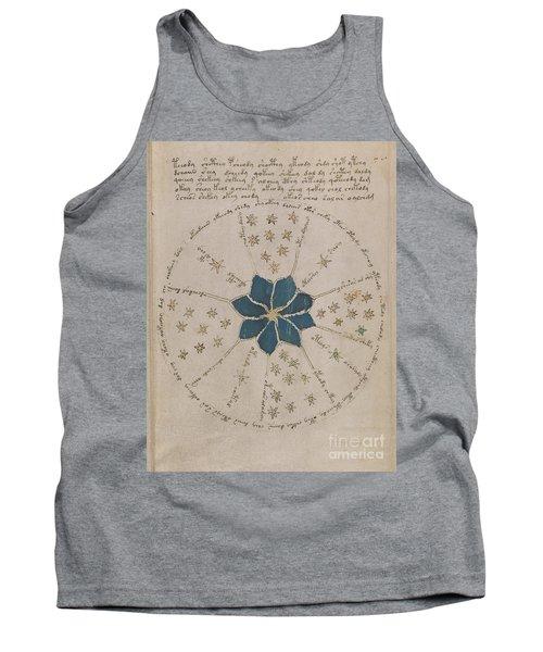 Voynich Manuscript Astro Rosette 2 Tank Top