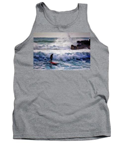 Waimea Bay Surfer Tank Top
