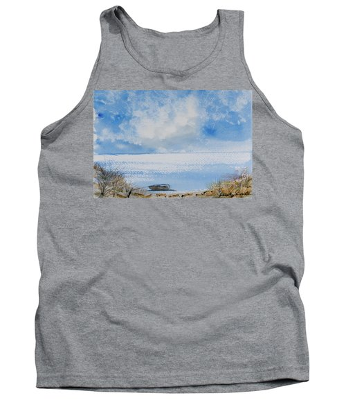 Tank Top featuring the painting Waiting For Sailor's Return by Dorothy Darden