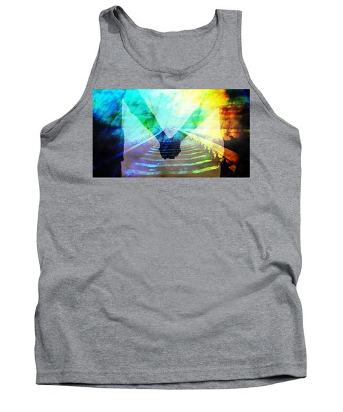 Waiting For The Midnight Train Tank Top