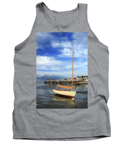 Waiting For The Tide Tank Top by Roupen  Baker
