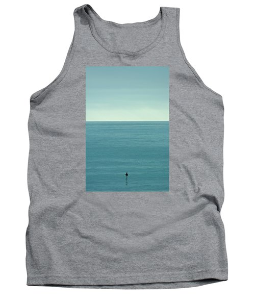 Waiting Tank Top by Peter Tellone