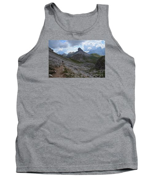 Tank Top featuring the photograph Walk On by Yuri Santin