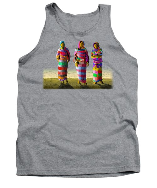 Walk The Talk Tank Top