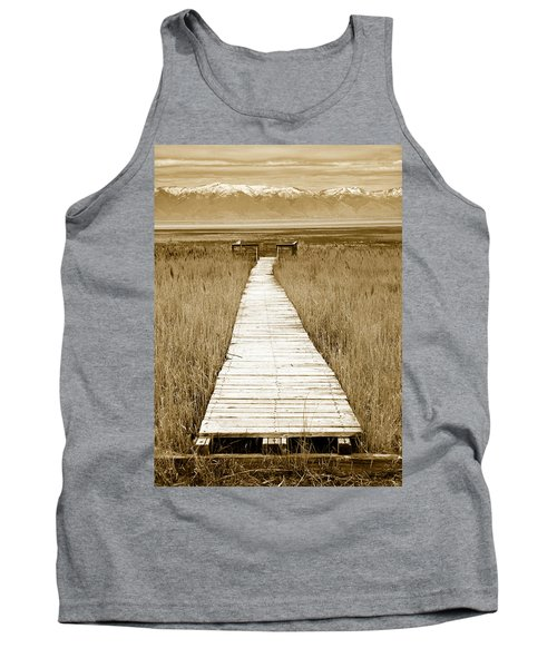 Walk With Me 1 Tank Top