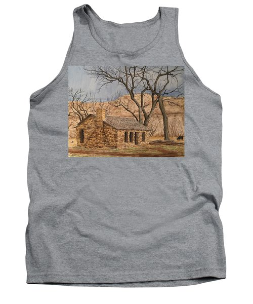 Walker Homestead In Escalante Canyon Tank Top