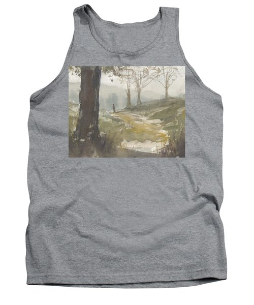 Walking At Green Island Tank Top