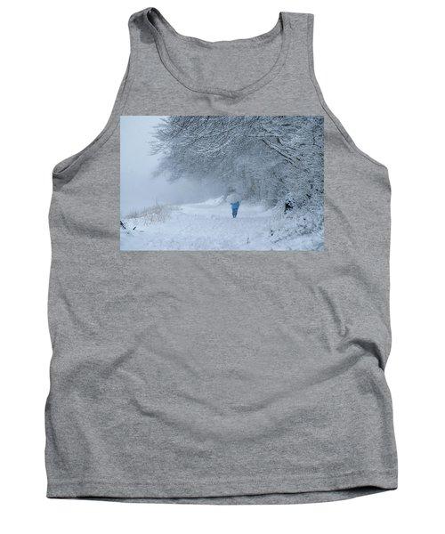 Walking In The Snow Tank Top