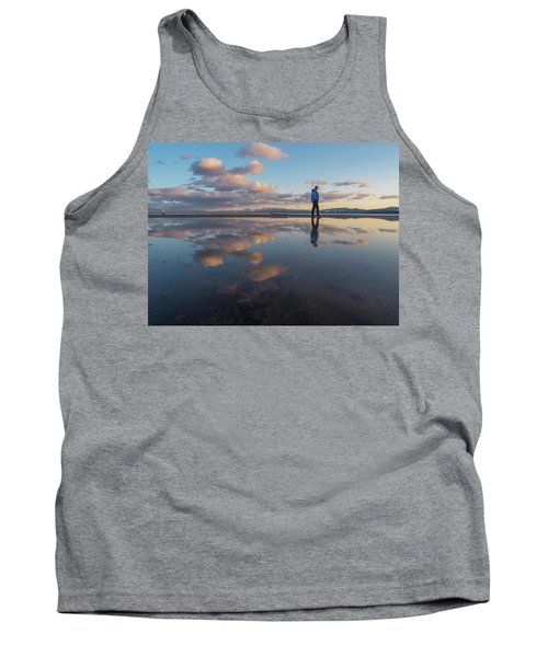 Walking In The Sunset Tank Top