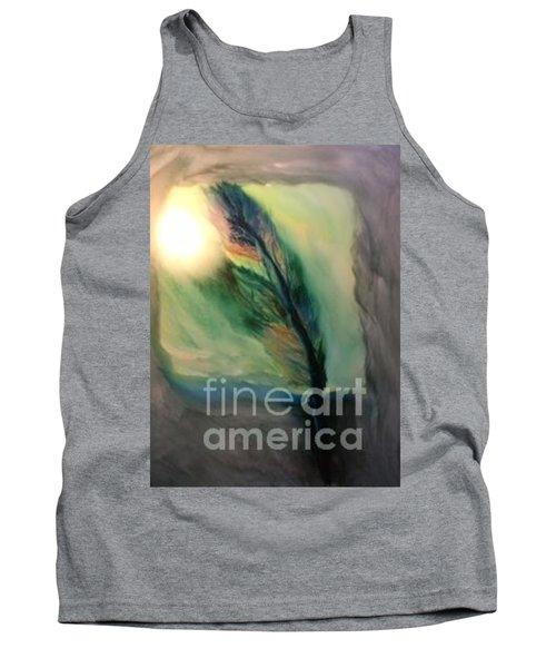 Walking In Your Light  Tank Top by FeatherStone Studio Julie A Miller