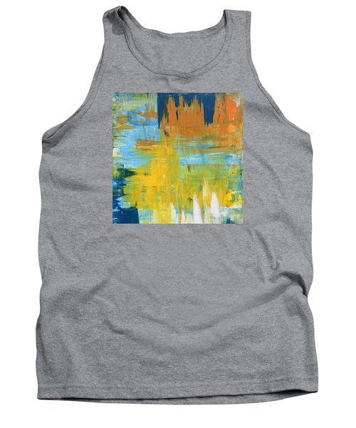 Walking On Sunshine - 48x48 Huge Original Painting Art Abstract Artist Tank Top