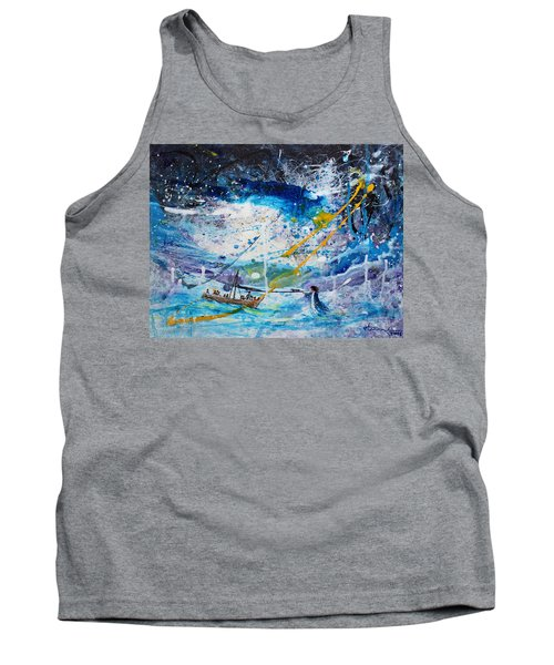 Walking On The Water Tank Top by Kume Bryant