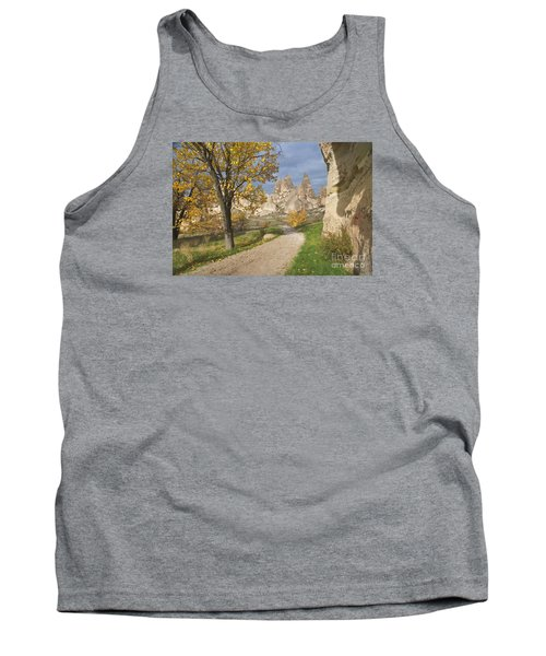 Tank Top featuring the photograph Walking The Cappadocia by Yuri Santin