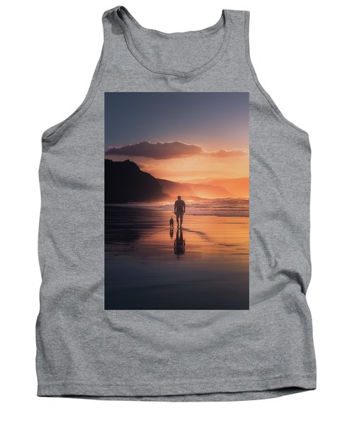 Walking The Dog Tank Top