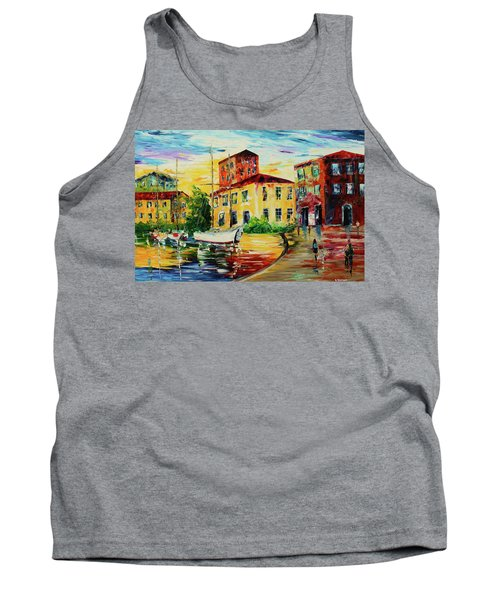 Walking The Harbor Tank Top