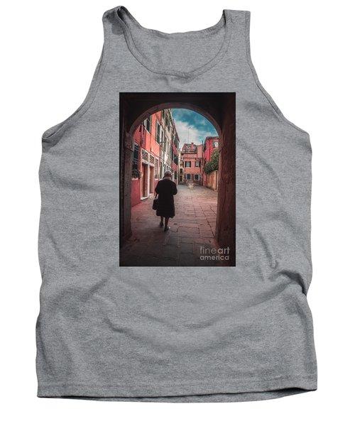 Walking Through Time - Venice, Italy Tank Top