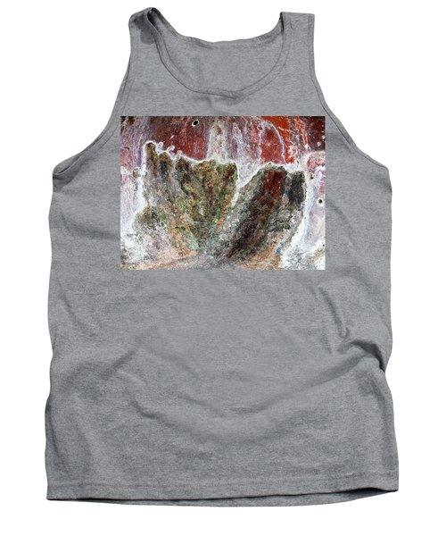 Wall Abstract 144 Tank Top by Maria Huntley