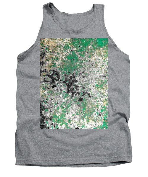 Tank Top featuring the photograph Wall Abstract 160 by Maria Huntley