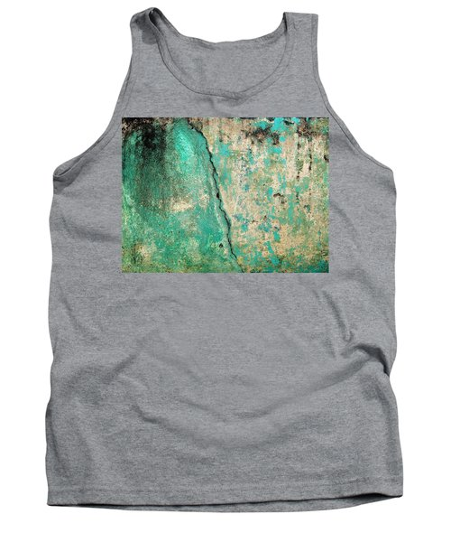 Tank Top featuring the photograph Wall Abstract 97 by Maria Huntley