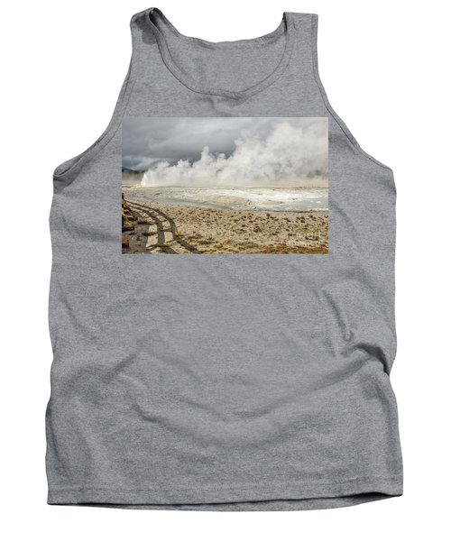 Wall Of Steam Tank Top by Sue Smith