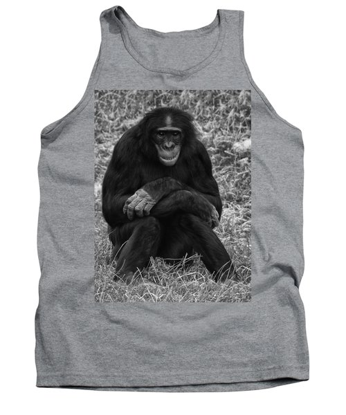 Tank Top featuring the photograph Wanna Be Like You by Nick Bywater