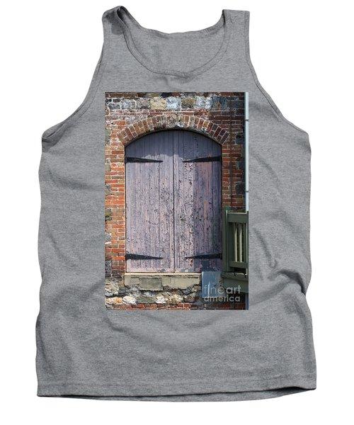 Warehouse Wooden Door Tank Top