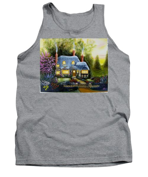 Warm And Cozy Cottage Tank Top