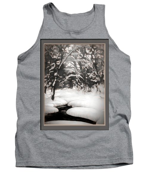 Warmth Of A Winter Day Tank Top
