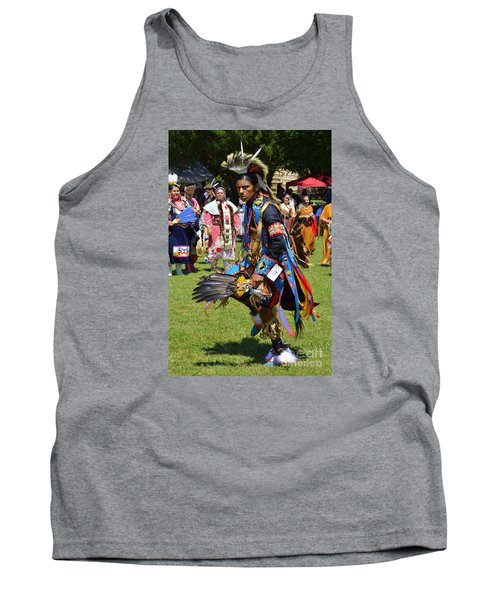 Tank Top featuring the photograph Warriors Dance by Lew Davis