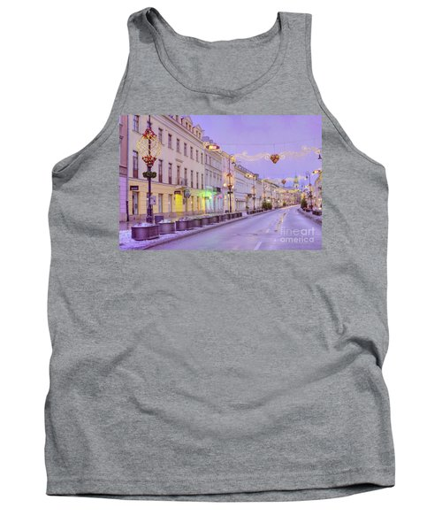Tank Top featuring the photograph Warsaw by Juli Scalzi