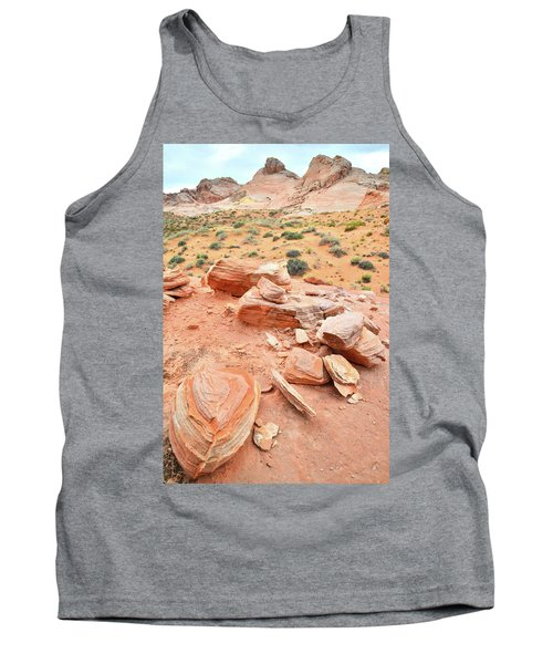 Tank Top featuring the photograph Wash 4 In Valley Of Fire by Ray Mathis