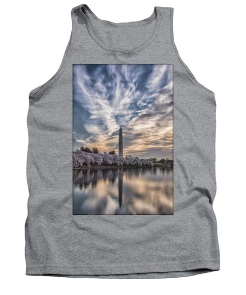 Washington Blossom Sunrise Tank Top