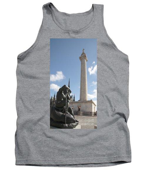 Washington Monument In Baltimore Tank Top