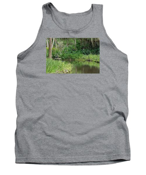 Washington Oaks Pond Tank Top