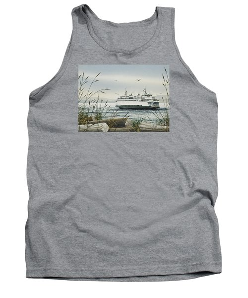 Washington State Ferry Tank Top by James Williamson
