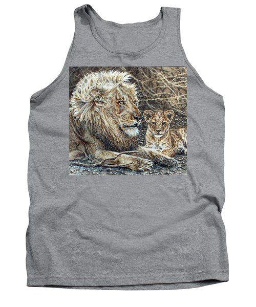 Watching And Waiting Tank Top
