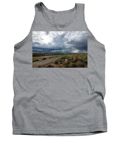 Watching The Storms Roll By Tank Top