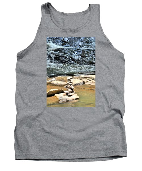 Water And Stone Tank Top by James Potts