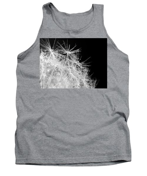 Water Drops On Dandelion Tank Top