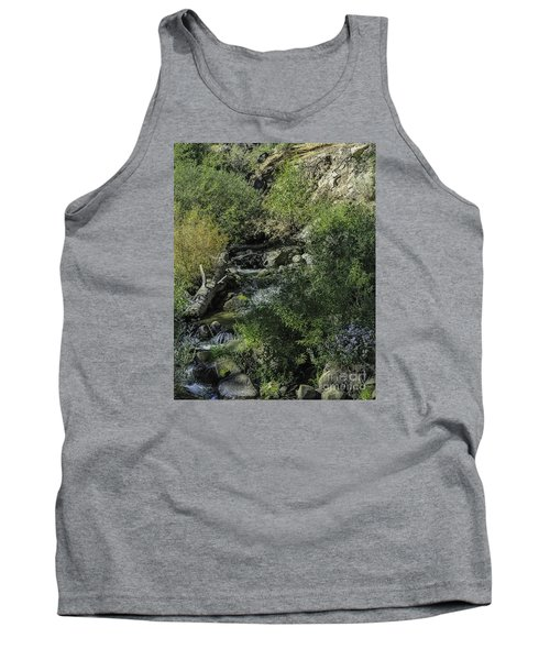 Water Logged Tank Top by Nancy Marie Ricketts