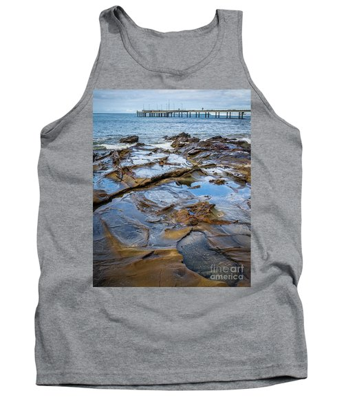 Tank Top featuring the photograph Water Pool by Perry Webster
